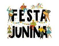 Festa Junina Brazil June Festival. Vector templates. Design element for card, banner, and other use. Festa Junina Brazil June Festival. Vector templates. Design Royalty Free Stock Photography