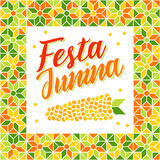 Festa Junina - Brazil Midsummer festival Royalty Free Stock Images