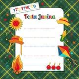 Festa Junina Brazilian summer holiday vector illustration
