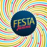 Festa junina carnival festival illustration. Vector Royalty Free Stock Photos