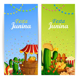 Festa Junina celebration background of Brazil and Portugal festival. Vector illustration of Festa Junina celebration background of Brazil and Portugal festival Stock Photo