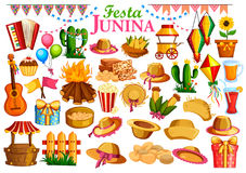 Festa Junina celebration background of Brazil and Portugal festival Royalty Free Stock Photography