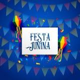 Festa junina celebration background design. Vector Stock Images