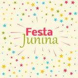 Festa junina celebration background. Vector Stock Images