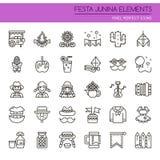 Festa Junina Elements Royalty Free Stock Photo