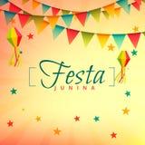 Festa junina event festival design. Vector Stock Image