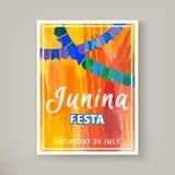 Festa Junina ferie stock illustrationer