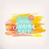 Festa Junina fest. Royalty Free Stock Image