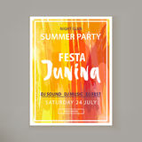 Festa Junina fest. Royalty Free Stock Images