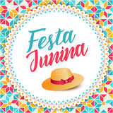 Festa Junina illustration - Brazil june festival Royalty Free Stock Photos