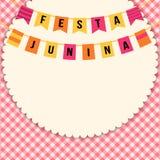 Festa Junina illustration - Brazil june festival. Festa Junina illustration - traditional Brazil june festival party - Midsummer holiday. Vector illustration Stock Images