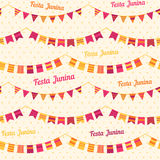 Festa Junina illustration - Brazil june festival Royalty Free Stock Photo