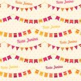 Festa Junina illustration - Brazil june festival Royalty Free Stock Photo