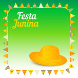 Festa Junina illustration - Brazil june festival Stock Photography