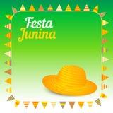 Festa Junina illustration - Brazil june festival Stock Photography
