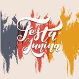Festa Junina illustration Vector banner. Latin American holiday. Festa Junina illustration. Vector banner. Latin American holiday Stock Images