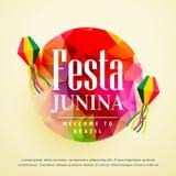 Festa junina latin american holiday background Royalty Free Stock Photo