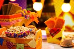 Festa Junina parti Arkivfoto