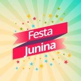 Festa junina party celebration background. Vector Stock Images