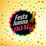 Festa junina party festival background. Vector Royalty Free Stock Photos