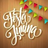Festa Junina party greeting design. Vector illustration. EPS10 Stock Photos