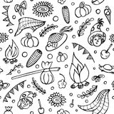 Festa junina seamless  pattern Royalty Free Stock Photo