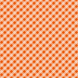 Festa Junina tartan seamless pattern. Cage endless background, square repeating texture. Vector illustration. Royalty Free Stock Image