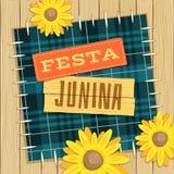 Festa Junina, tema do fest de junho do brasileiro Foto de Stock Royalty Free