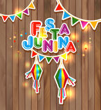 Festa Junina vector illustration Stock Photo