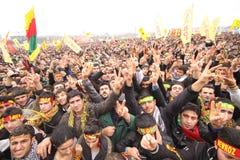 festa kurdish newroz arkivbild