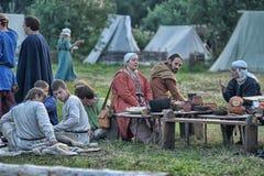 Festa medieval Fotografia de Stock