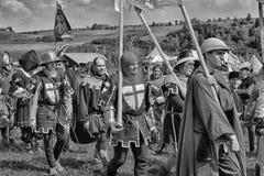 Festa medieval Fotografia de Stock Royalty Free