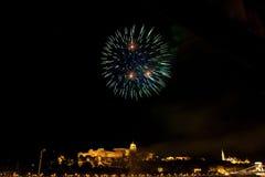Festa nazionale a Budapest Fotografia Stock Libera da Diritti