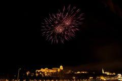 Festa nazionale a Budapest immagine stock