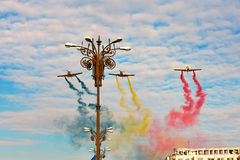 Festa nazionale della Romania s Fotografie Stock