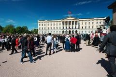 Festa nazionale in Norvegia Immagine Stock Libera da Diritti