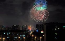 Festa nazionale a Shanghai Cina immagini stock libere da diritti