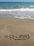 Festa nella sabbia Fotografia Stock