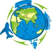 Festa - organizzi un viaggio Immagine Stock Libera da Diritti