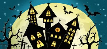Festa religiosa di autunno di Halloween immagine stock