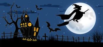 Festa religiosa di autunno di Halloween fotografia stock libera da diritti