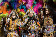 Festa of San Tomas in Chichicastenango Guatemala. The Locals of small highland town of Chichicastenango dress up to celebrate the Festa of San Tomas Stock Photos