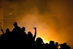 Festa in Spagna Immagini Stock Libere da Diritti