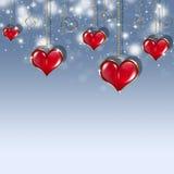 Festa Valentine Card Fotografia Stock Libera da Diritti