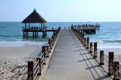 Feste in Cambogia bella vista dalla spiaggia Mondo impressionante del viaggio Resto di estate fotografia stock