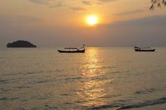 Feste in Cambogia bella vista dalla spiaggia Mondo impressionante del viaggio Resto di estate fotografie stock