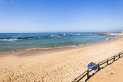 Feste dell'oceano della spiaggia Fotografie Stock Libere da Diritti