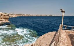 Feste nell'Egitto Vacanze estive in Sharm el-Sheikh Il Mar Rosso egiziano immagine stock libera da diritti