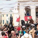 Festes de Gràcia, île de Menorca, Espagne Image libre de droits
