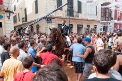 Festes de Gràcia, Menorca Island, Spain Royalty Free Stock Image